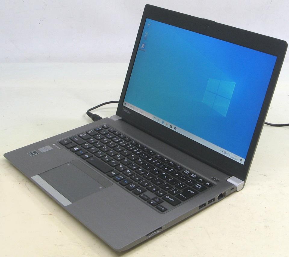 ノートパソコンを買うなら中古パソコンのUSED PC ノートパソコン 東芝 驚きの価格が実現 ダイナブック dynabook R63 Corei3 P SSD搭載 中古 タイムセール ノート PR63PFAA633AD8H