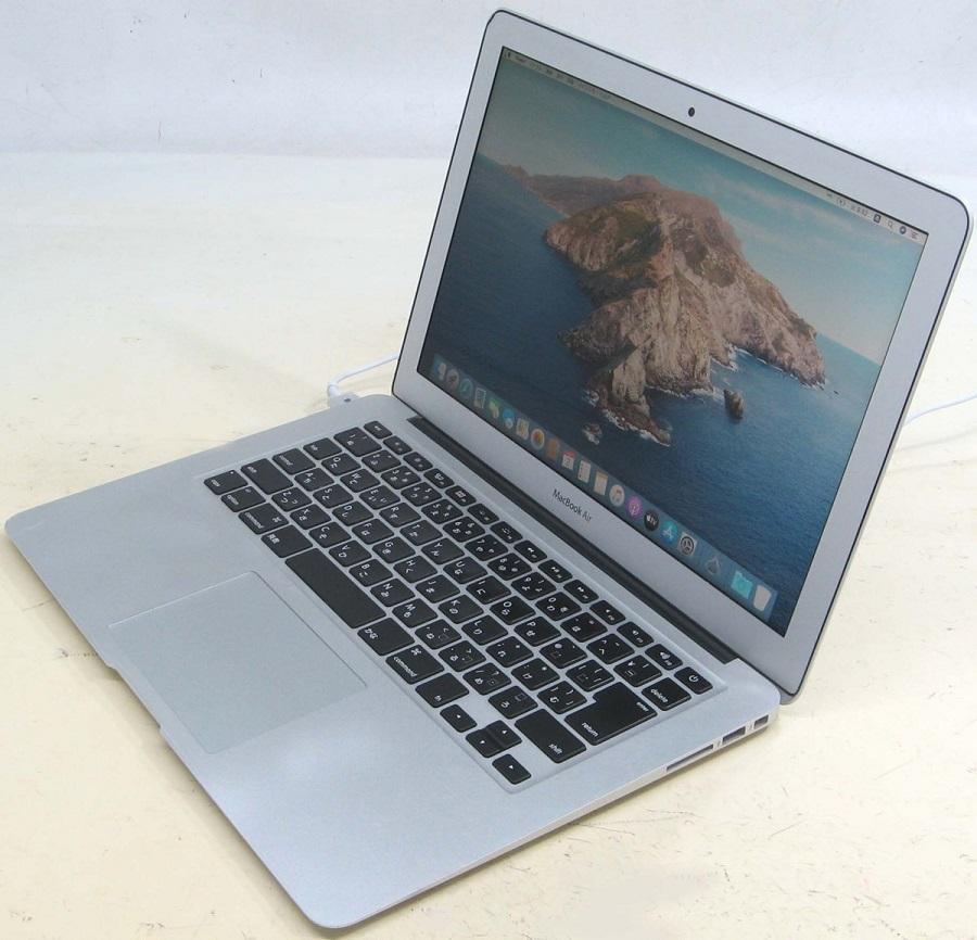 Apple MacBook Air MJVG2LL/A Corei7 2.2GHz 13.3インチTFT液晶 メモリ8GB SSD256GB 中古Macintosh マックブック エアー【中古パソコン】【中古】