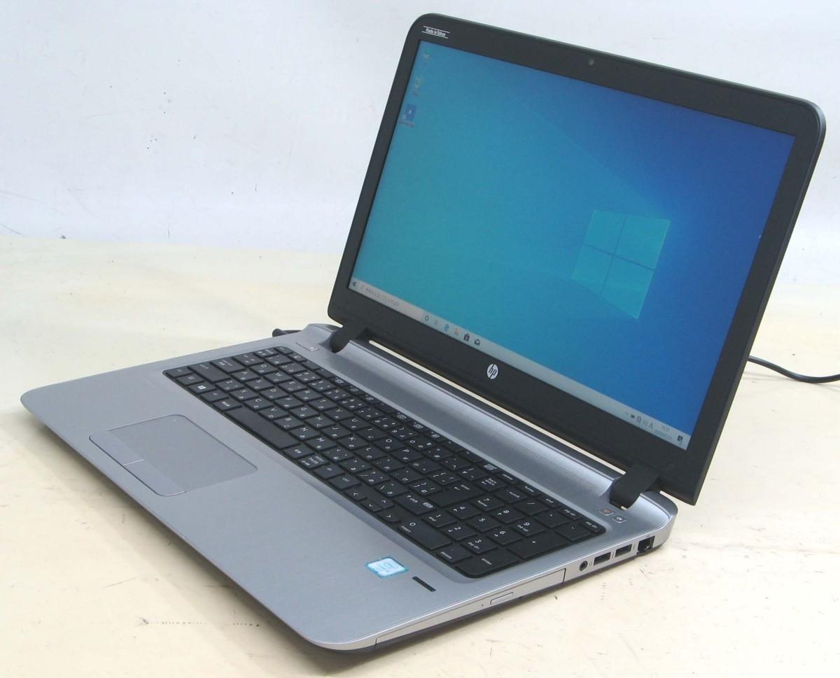 中古 ノート パソコン エイチピー プロブック Webカメラ搭載 ウェブカメラ HP Probook 450 G3 Corei5 【HDMI出力端子】Windows10 15.6インチ 15.6型 液晶 HDD500GB【中古パソコン】【中古】