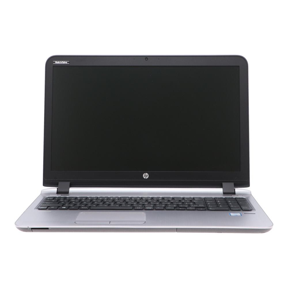 A4ノート ProBook 450 G3 N8K04AV-AACS:Win10x64 HP Core i5-2.3GHz 6200U 2017年頃購入 Webカメラ 日本産 指紋認証 美品 500GB DVDマルチ 最新 4GBメモリ 15.6 中古