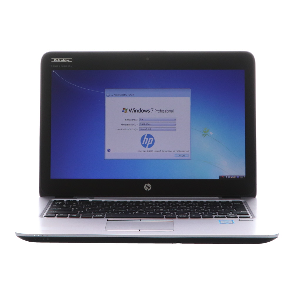 [B5ノート][期間限定][セール]EliteBook 820 G3(L4Q21AV-AAEL/Win7Px64 10DG) HP Core i5-2.3GHz(6200U)/8G/500G/12.5/指紋認証/WebCam 2016年頃購入 [Cランク] [中古]