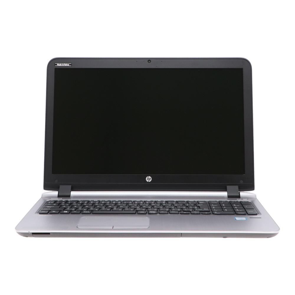 [A4ノート]ProBook 450 G3(2RA50PA#ABJ/Win10x64) HP Core i5-2.3GHz(6200U)/4G/500G/DVDマルチ/15.6/指紋認証/Webカメラ 2018年頃購入 [Bランク] [中古]