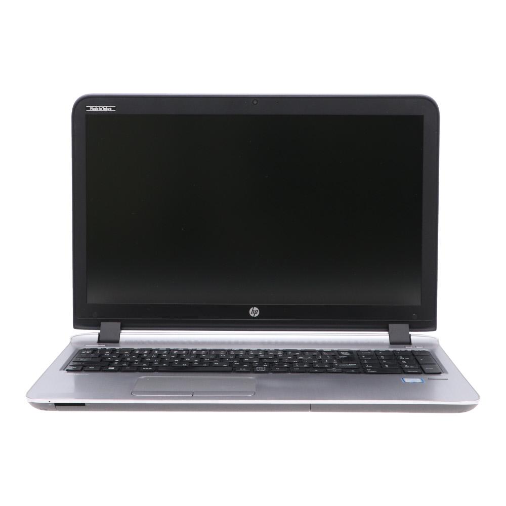 [A4ノート]ProBook 450 G3(2RA37PA#ABJ/Win10x64) HP Core i5-2.3GHz(6200U)/8GBメモリ/500G/DVDマルチ/15.6FHD/指紋認証/WEBカメラ 2018年頃購入 [バリュー品] [中古]