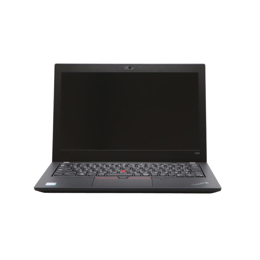 B5ノート 在庫処分セール ThinkPad X280 20KES06400:Win10x64 希少 Lenovo Core i5-1.7GHz 8350U Webカメラ Bランク SSD256GB 指紋認証 12FHD vPro 8GBメモリ 2019年頃購入 期間限定で特別価格 中古