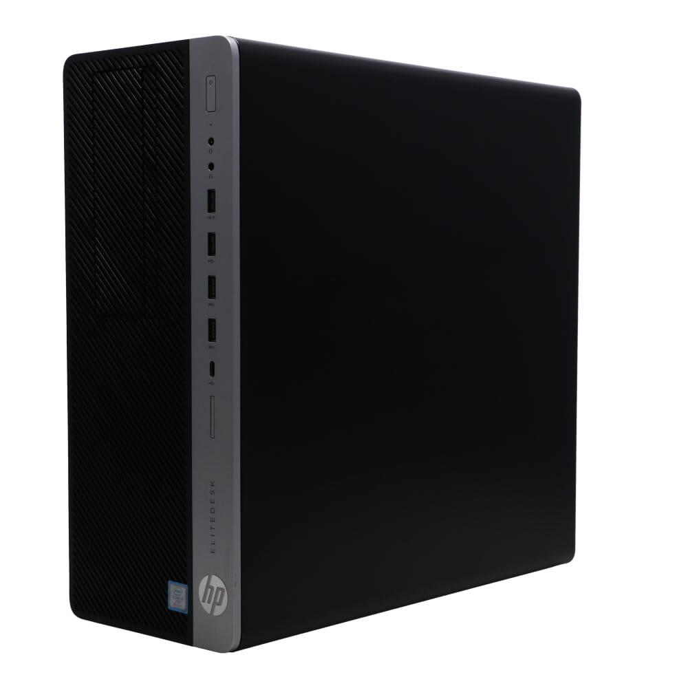 与え デスクトップ ゲーミングPC EliteDesk 800 G4 TW 2UZ41AV-AGMQ:Win10x64 HP Core 中古 8700 DVDライタ Bランク 16GBメモリ i7-3.2GHz 2019年頃購入 上質 SSD256GB NVIDIA