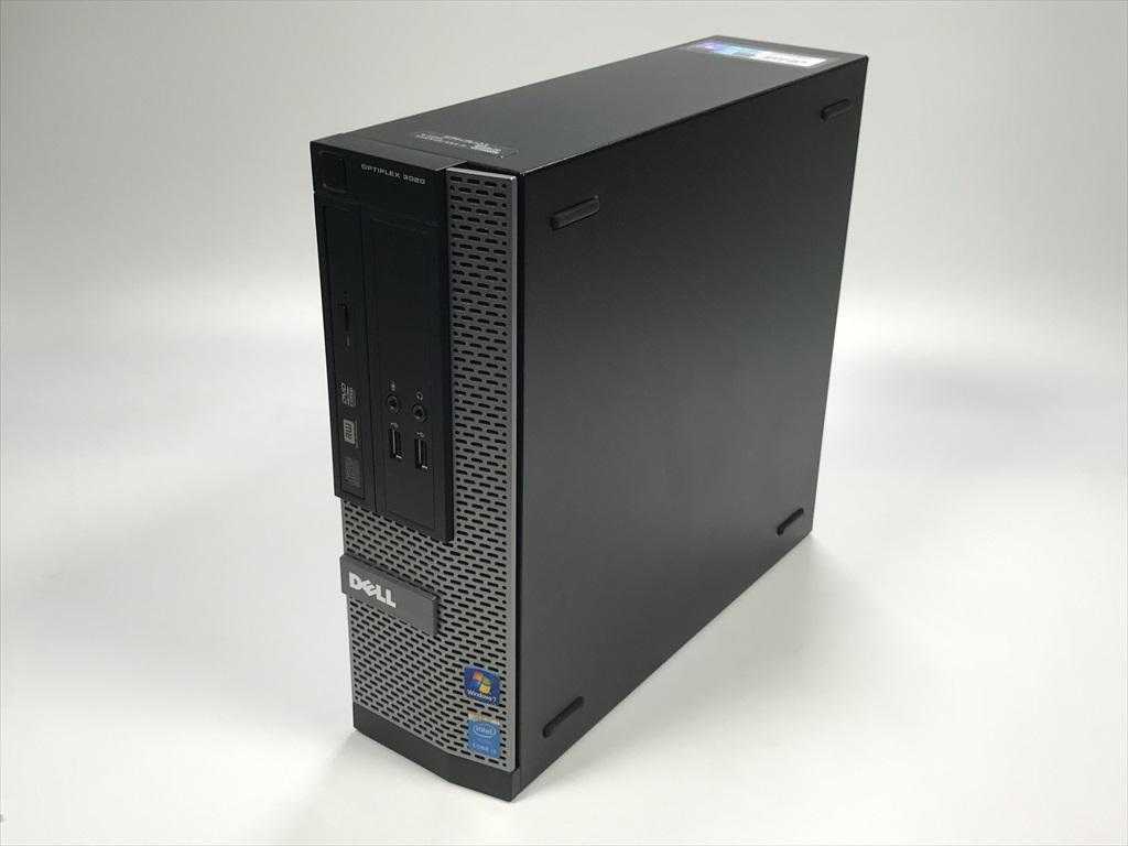[デスクトップ]★Optiplex 3020 3600 SFF(Win10 MAR) DELL Core i3-3.6GHz(4160)/8Gメモリ強化/500G/DVDマルチ 2017年頃購入 [Bランク] [中古]