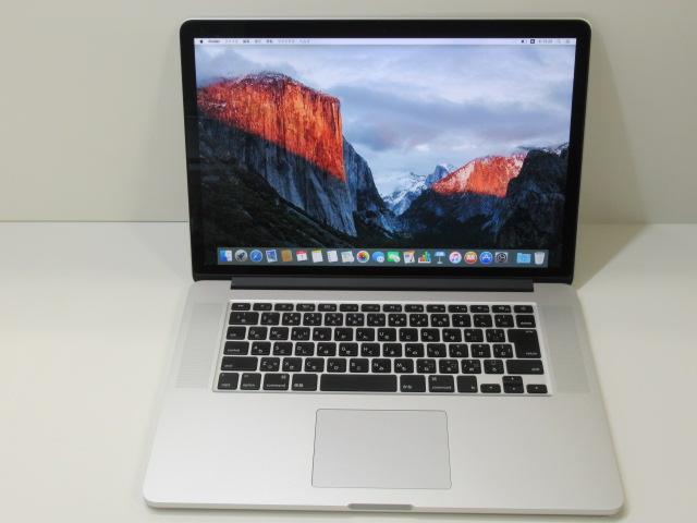 A4ノート ゲーミングPC MacBook Pro15インチ ストア MJLT2J A OS10.11 Apple Core 中古 Radeon 16G i7-2.5GHz SSD512G 2016年頃購入 15.4 バリュー品 Retina ギフ_包装
