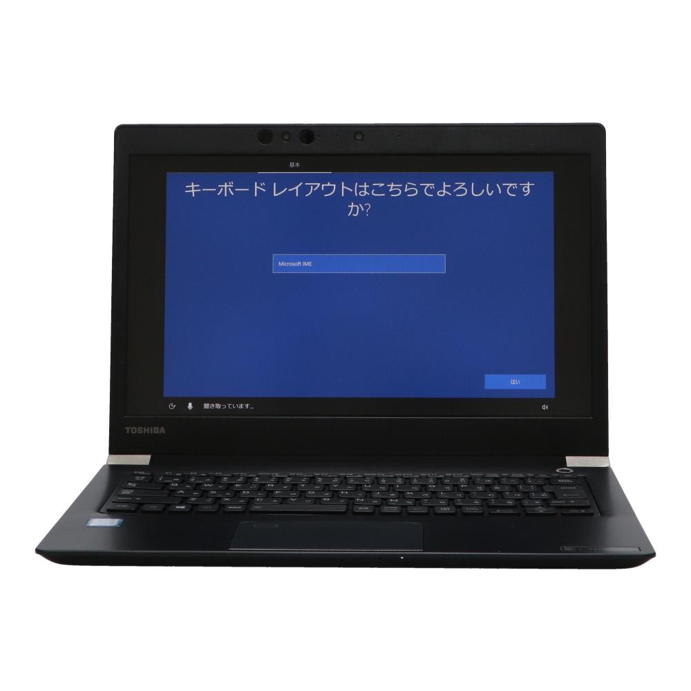 B5ノート dynabook U63H PU63HHC44DBAD11:Win10x64 世界の人気ブランド DYNABOOK 新作販売 Core i5-1.7GH 8350U 8GBメモリ 指紋認証 13.3FHD Webカメラ 中古 SSD256GB 美品 2018年頃購入