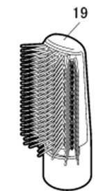 ◆ ◆ 寬 b 輥刷唯一 ◆ ◆ 松下 EHKN94RP EHKN94PP 來 drayernanocea 更換寬滾刷來 EHKN94RP7617 EHKN94PP7617 松下 Nani-乾燥機胭脂粉紅色淺粉色