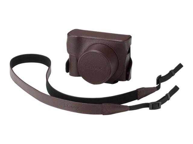Panasonic(パナソニック) 純正部品コード:DMW-CLX100-T ◆本革ホディケース◆◆カメラ用部品 ■新品 純正 カメラ用ケース・バッグ・ストラップ