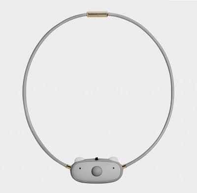 【送料無料】【あす楽対応】ible(アイブル)エアビーダC1 首掛け式空気清浄機 子ども用 グレー部品コード:AIRVIDA-C1PM2.5除去率 99.9% 細菌除去率 99.9%【宅コ】