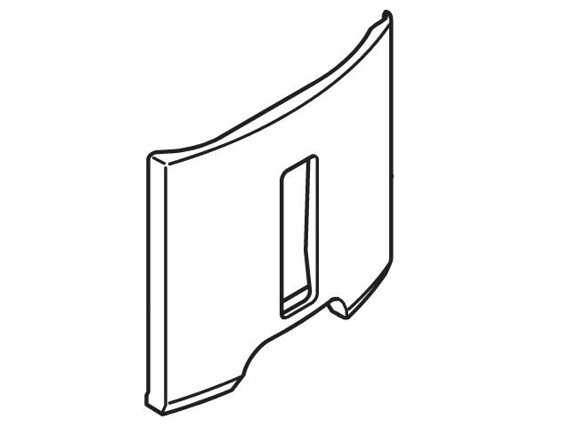 パナソニック Panasonic FCW6110038 除湿機 除湿乾燥機 低廉 水容器カバー パナソニック除湿機 除湿乾燥機用 部品コード:FCW6110038 ホワイト タンクカバー 定形外郵便対応可能 お買得