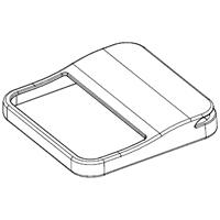 SHARP お求めやすく価格改定 シャープ 2812530017 イオン発生機用 卓上 宅コ 定形外郵便対応可能 ルーバー シャープイオン発生機用 トラスト デスクトップルーバー部品コード:2812530017