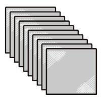 SHARP シャープ IZ-F9B10 天井埋込型 交換用 フィルター 交換用フィルタ シャープ天井埋込型プラズマクラスターイオン発生機用 激安価格と即納で通信販売 メール便対応可能 10枚入部品コード:IZ-F9B10 宅コ 祝日