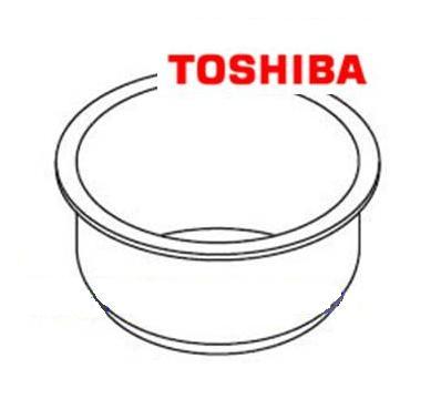 炊飯器用 内がまTOSHIBA (東芝) 部品番号:320VV004炊飯器内釜  1.0-1.5L用 純正 新品