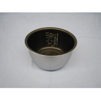 【最大購入数3点まで】象印 (ZOJIRUSHI) 炊飯ジャー なべ 内がま 炊飯器部品 部品コード:B304-6B 純正部品 消耗品
