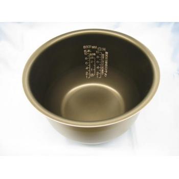 【最大購入数3点まで】象印 (ZOJIRUSHI) 炊飯ジャー なべ 内がま 炊飯器部品 部品コード:B331-6B 純正部品 消耗品