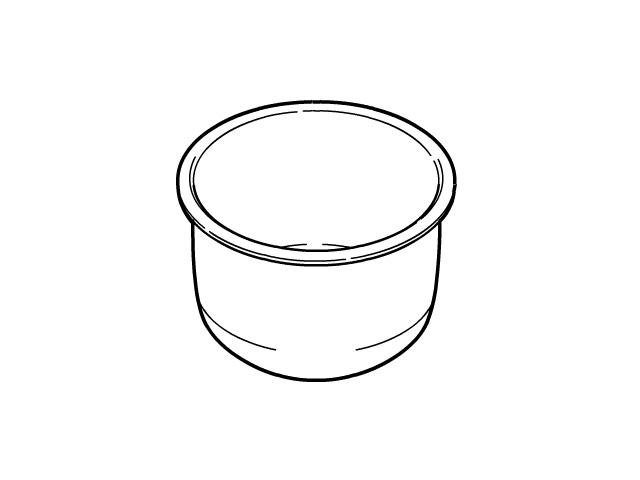 ☆パナソニック(Panasonic)☆ 炊飯器 内なべ部品コード:ARE50-F38 純正部品 消耗品
