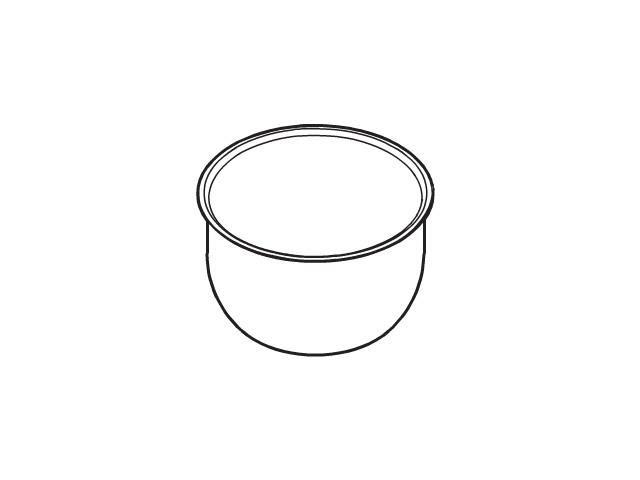 ☆パナソニック(Panasonic)☆ 炊飯器 内釜部品コード:ARE50-F78 純正部品 消耗品