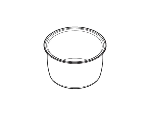 純正部品 消耗品 内なべ部品コード:ARE50-G23 炊飯器 ☆パナソニック(Panasonic)☆