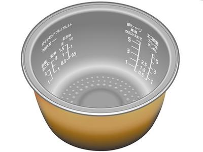 Panasonic(パナソニック)炊飯器 内釜部品コード:ARE50-H42 交換部品