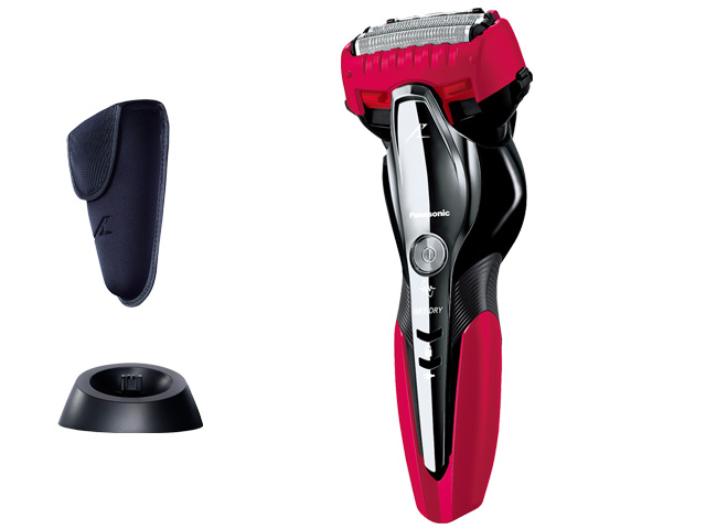 ☆Panasonic☆パナソニック☆ラムダッシュ(3枚刃)(赤) 肌に優しい 使いやすさを追求 新カミソリシェーバー部品コード:ES-ST8P-R 純正部品 消耗品