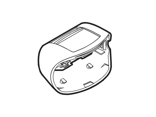 パナソニック Panasonic ESED91W4037 除毛 脱毛 ボディシェーバー 数量限定 春の新作続々 フレーム パナソニック除毛 脱毛器 定形外郵便対応可能 フレーム部品コード:ESED91W4037