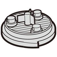アウトレット☆送料無料 激安通販専門店 SHARP シャープ 2173370491 掃除機 高性能プリーツフィルタ部品コード:2173370491 掃除機用 フィルター