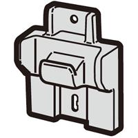 SHARP シャープ 並行輸入品 2173560004 掃除機 売り出し スタンド シャープ掃除機用 フック 定形外郵便対応可能 スタンド用フック部品コード:2173560004
