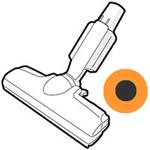 ◆SHARP ◆◆◆シャープ 掃除機用 吸込口◆◆部品コード:2179351018■新品 交換部品 クリーナー用 吸込口 カラー:オレンジ系 対応機種:EC-WX310-D