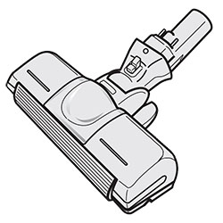 ◆TOSHIBA 純正◆◆◆TOSHIBA (東芝) 掃除機 ☆クリーナー用床ブラシ 4145H526 交換部品 交換用ノズル