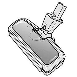 TOSHIBA(東芝) 掃除機 クリーナー用床ブラシ 4145H155 交換部品 交換用ノズル