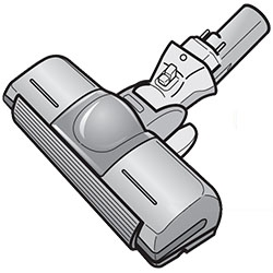 ◆TOSHIBA 純正◆◆◆TOSHIBA (東芝) 掃除機 ☆クリーナー用床ブラシ 4145H504 交換部品 交換用ノズル