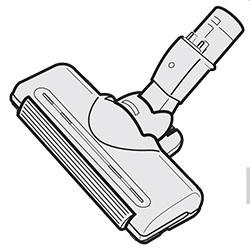 ◆TOSHIBA 純正◆◆◆TOSHIBA (東芝) 掃除機 ☆クリーナー用床ブラシ 4145H562 交換部品 交換用ノズル シンゴミトレヘッドユカブラシクミタテ