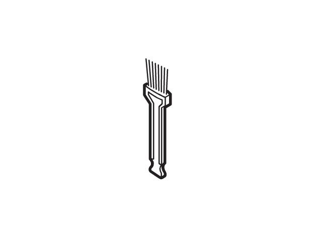 <title>パナソニック Panasonic AMV36P-AT02 掃除機 クリーナー 送料0円 手元ブラシ メール便対応可能 パナソニック掃除機用 手元ブラシ部品コード:AMV36P-AT02 宅コ</title>