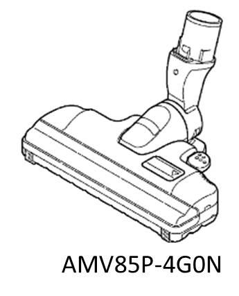 パナソニック ナショナル National ■Panasonic■ 掃除機用床用ノズル 紙パック式掃除機◆ナショナル◆ (National) AMV85P-4G0J