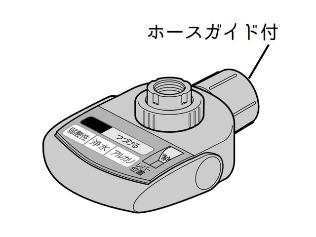 パナソニック Panasonic TK8050S7657 整水器 水切替えレバーブロック部品コード:TK8050S7657 ハンドル パナソニックアルカリイオン整水器用 浄水器 新作続 人気ブランド