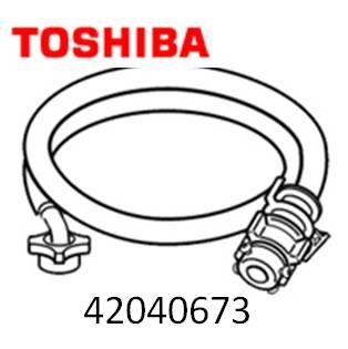 TOSHIBA (東芝) 洗濯機 衣類乾燥機 ☆給水ホース・ホース継手  TOSHIBA 東芝 洗濯機 衣類乾燥機 給水ホース・ホース継手 0.8m42040673