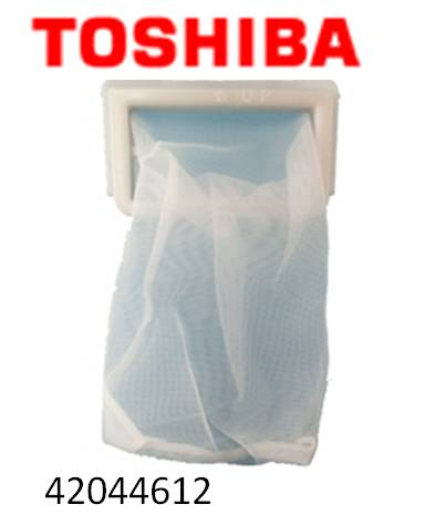 TOSHIBA (東芝) リントフィルター 全自動洗濯機用糸くずフィルター メール便対応 42044612  【メール便対応可能】TOSHIBA 東芝 全自動洗濯機用糸くずフィルター ゴミ取りネット42044612【宅コ】
