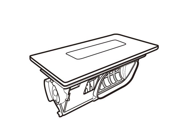 パナソニック Panasonic AXW2XK9CW0 洗濯乾燥機 ☆新作入荷☆新品 フィルター ランキングTOP10 乾燥フィルタ部品コード:AXW2XK9CW0 洗濯乾燥機用