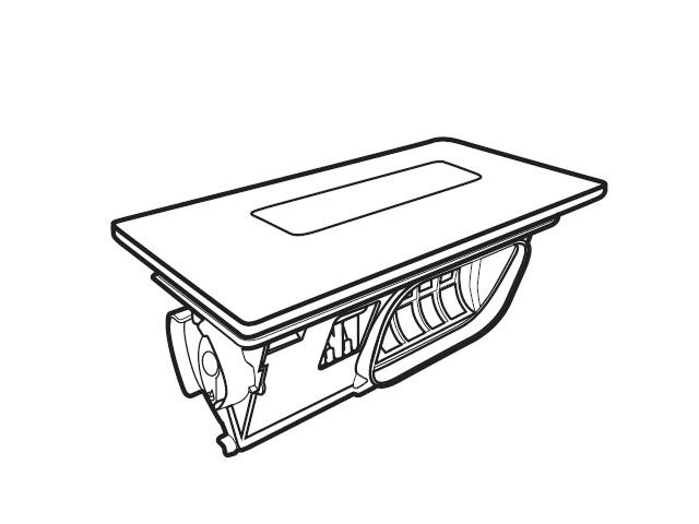 パナソニック Panasonic AXW2XK9DA0 予約 洗濯乾燥機 フィルター 洗濯乾燥機用 乾燥フィルタ クリスタルホワイト用 お買い得品 部品コード:AXW2XK9DA0