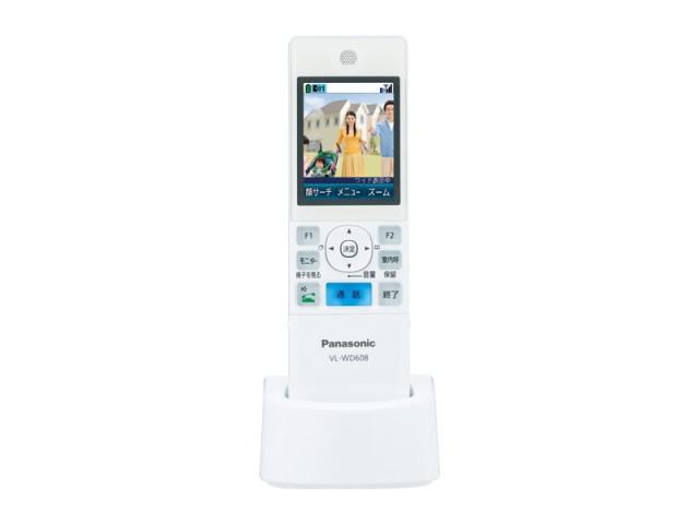 ☆パナソニック(Panasonic)☆ テレビドアホン用 ワイヤレスモニター子機部品コード:VL-WD608 純正部品 消耗品