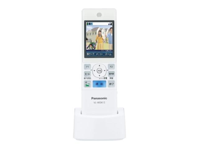 ☆パナソニック(Panasonic)☆ テレビドアホン用 ワイヤレスモニター子機部品コード:VL-WD612 純正部品 消耗品