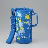 水筒ケース 水筒ポーチ ボトルカバー 交換部品 信用 定形外郵便対応可能 サーモス 最安値 THERMOS 部品コード:4562344366212 水筒 ブルーペイント FHO-801WF カバー ポーチのみ真空断熱2ウェイボトル ハンディポーチ