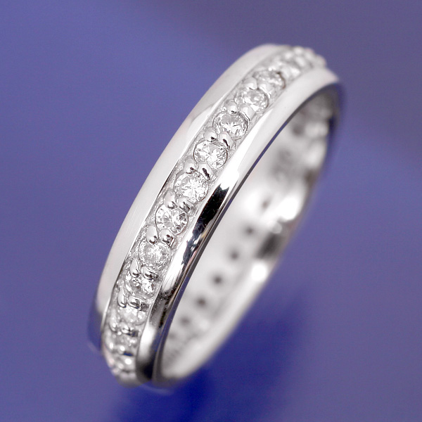 【送料無料】 ベビーリング ダイヤモンドフルエタニティ 【Towa】KT-34 内径:約 13mm 赤ちゃんの指のサイズで作るメモリアルリング