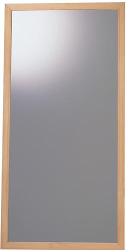 大型壁掛けミラー(鏡5mm) ナチュラル