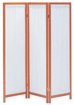木製スクリーン(帆布) 3連