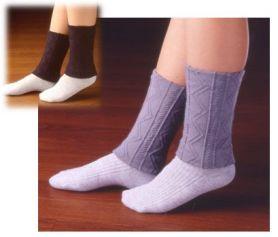 踝關節不合理胖或不 (抵禦寒冷,冷,冷刪除襪子和綁腿)