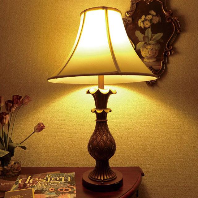 ランプ ライト テーブルランプ ゴールド テーブルスタンドライト アンティーク アンティーク調 LED 照明 間接照明 シェード シェードランプ おしゃれ クラシック シンプル アジアン エレガント リビング デスク ベッド 寝室 子供部屋 テーブルランプ LA60001TB CAL lighting