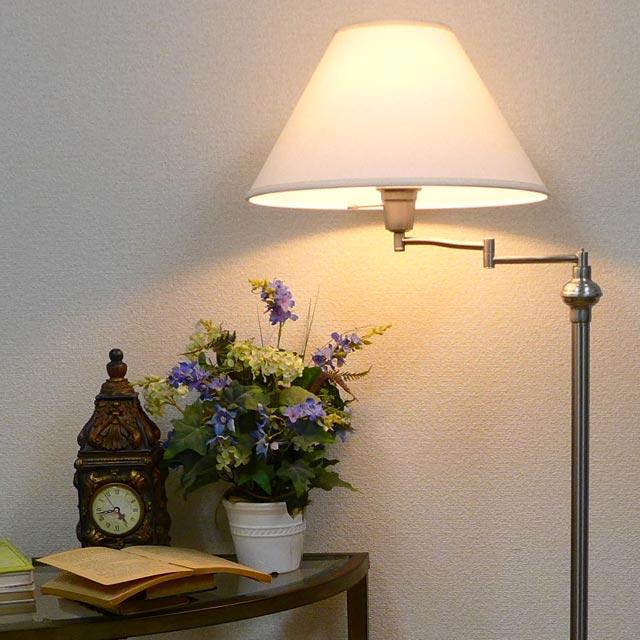 スタンドライト フロアライト スタンドランプ モダン アンティーク ランプ ライト フロアランプ フロアスタンドライト アンティーク調 おしゃれ ベッドランプ ベッドサイド 高級 ベッド 寝室 クラシック テイスト LED シェード シェードランプ アメリカン 照明 BO-314-BS